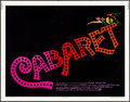 """Movie Posters:Musical, Cabaret (Allied Artists, 1972). Half Sheet (22"""" X 28""""). Musical.. ..."""