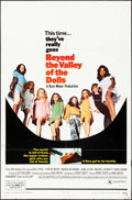 "Movie Posters:Sexploitation, Beyond the Valley of the Dolls (20th Century Fox, 1970). One Sheet (27"" X 41""). Sexploitation.. ..."