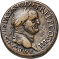 Ancients:Roman Imperial, Ancients: Vespasian (AD 69-79). AE sestertius (32mm, 25.59 gm,6h). Choice VF, smoothing....