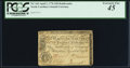 Colonial Notes:North Carolina, North Carolina April 2, 1776 $20 Rattlesnake PCGS Extremely Fine45.. ...