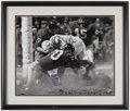"Autographs:Photos, Sam Huff ""Greatest Game Ever Played"" Signed, Framed Photograph...."