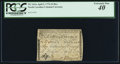 Colonial Notes:North Carolina, North Carolina April 2, 1776 $4 Bee PCGS Extremely Fine 40.. ...