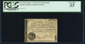 Colonial Notes:North Carolina, North Carolina April 2, 1776 $1/2 Monogram with toothed border of radial lines PCGS Very Fine 35.. ...