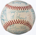Autographs:Baseballs, 1960 Washington Senators Team Signed Baseball (29 Signatures) - Team's Final Season in Washington....