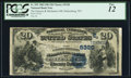 National Bank Notes:West Virginia, Parkersburg, WV - $20 1882 Date Back Fr. 555 The Farmers &Mechanics NB Ch. # (S)5320. ...