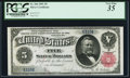 Large Size:Silver Certificates, Fr. 266 $5 1891 Silver Certificate PCGS Very Fine 35.. ...