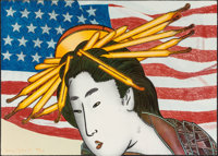 Larry Rivers (1923-2002) Madame Butterfly, from the Metropolitan Opera I portfolio, 1978