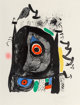 Joan Miró (1893-1983) Le pelerin de Compostelle, 1969 Lithograph in colors on Rives BFK paper 28-1/4 x 21 inches...