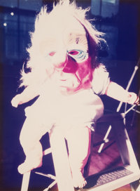Cindy Sherman (b. 1954) Untitled (Doll with mask), 1987 Dye coupler 23-1/2 x 17-1/2 inches (59.7
