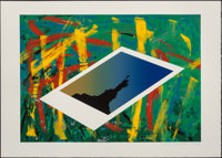 Jane Bauman (20th century) Liberty, 1986 Silkscreen in colors on paper 24 x 34 inches (61 x 86.4