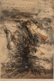 Zao Wou-Ki (1921-2013) Untitled, 1963 Etching and aquatint in colors on paper 21-3/4 x 14-3/4 inches (55.2 x 37.5 cm)
