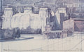 Prints & Multiples, Christo (b. 1935). Wrapped Reichstag, 1978. Offset lithograph in colors on glossy paper. 24-1/2 x 38-1/2 inches (62.2 x ...