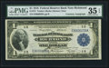 Large Size:Federal Reserve Bank Notes, Courtesy Autographed Fr. 721 $1 1918 Federal Reserve Bank Note PMG Choice Very Fine 35 EPQ.. ...