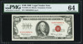 Small Size:Legal Tender Notes, Fr. 1550 $100 1966 Legal Tender Note. PMG Choice Uncirculated 64.. ...