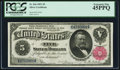 Large Size:Silver Certificates, Fr. 266 $5 1891 Silver Certificate PCGS Extremely Fine 45PPQ.. ...