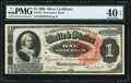Large Size:Silver Certificates, Fr. 217 $1 1886 Silver Certificate PMG Extremely Fine 40 EPQ.. ...