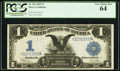Large Size:Silver Certificates, Fr. 236 $1 1899 Silver Certificate PCGS Very Choice New 64.. ...