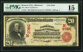 National Bank Notes:Missouri, Kansas City, MO - $20 1902 Red Seal Fr. 641 The NB of Commerce Ch.# (M)3760. ...