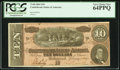 Confederate Notes:1864 Issues, T68 $10 1864. PF-44 Cr. 552. ...