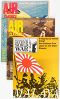 Magazines:Miscellaneous, Assorted Air Combat/World War II Magazines Group of 13 (VariousPublishers, 1960s-70s) Condition: Average VG+.... (Total: 13 Items)
