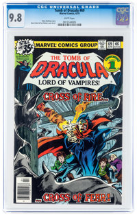Tomb of Dracula #69 (Marvel, 1979) CGC NM/MT 9.8 White pages