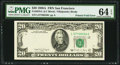 Error Notes:Foldovers, Fr. 2076-L $20 1988A Federal Reserve Note. PMG Choice Uncirculated64 EPQ.. ...