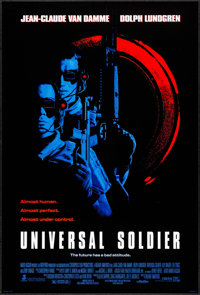 """Universal Soldier & Others Lot (Tri-Star, 1992). One Sheets (3) (27"""" X 40"""") SS. Science Fiction. ... (Tota..."""