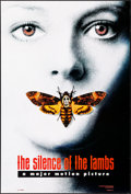 "Movie Posters:Thriller, The Silence of the Lambs (Orion, 1990). Rolled, Very Fine. One Sheet (27"" X 40"") DS Style A. Thriller.. ..."