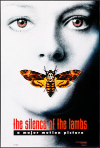 """The Silence of the Lambs (Orion, 1990). One Sheet (27"""" X 40"""") DS Clarice Starling Style A. Thriller"""