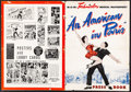 """Movie Posters:Academy Award Winners, An American in Paris (MGM, 1951). Folded, Fine-. Cut Pressbook (20 Pages, 12.25"""" X 17""""). Musical.. ..."""