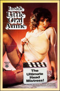 "Movie Posters:Adult, Inside Little Oral Annie & Other Lot (Evart Enterprises, 1984).One Sheets (2) (27"" X 41""& 25"" X 38""). Adult.. ... (Total: 2Items)"