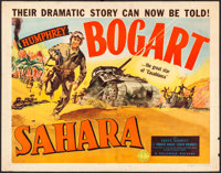 "Sahara (Columbia, 1943). Half Sheet (22"" X 28""). War"