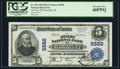 National Bank Notes:Hawaii, Honolulu, HI - $5 1902 Plain Back Fr. 607 The First NB of Hawaii Ch. # 5550. ...