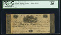 Obsoletes By State:Missouri, St. Louis, MO (Terr.)- Bank of St. Louis $5 Mar. 18, 1817 G24 PCGS Very Fine 20 . ...