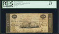 Obsoletes By State:Missouri, St. Louis, MO (Terr.)- Bank of Missouri $10 May 9, 1818 UNL. ...