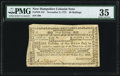Colonial Notes:New Hampshire, New Hampshire November 3, 1775 40s PMG Choice Very Fine 35.. ...