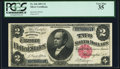 Large Size:Silver Certificates, Fr. 246 $2 1891 Silver Certificate PCGS Very Fine 35.. ...