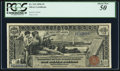 Large Size:Silver Certificates, Fr. 224 $1 1896 Silver Certificate PCGS About New 50.. ...