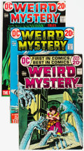 Bronze Age (1970-1979):Horror, Weird Mystery Tales #1-24 Complete Series Group (DC, 1972-75)Condition: Average VF-.... (Total: 24 Comic Books)