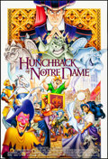 "Movie Posters:Animation, The Hunchback of Notre Dame & Other Lot (Buena Vista, 1996).One Sheet (27"" X 40"") DS & German A1 (23.5"" X 33"") Folded.Anim... (Total: 2 Items)"