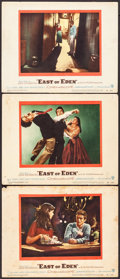 "Movie Posters:Drama, East of Eden (Warner Brothers, 1955). Fine+. Lobby Cards (3) (11"" X 14""). Drama.. ... (Total: 3 Items)"