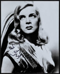 "Movie Posters:Miscellaneous, Lizabeth Scott (1990s). Autographed Portrait Photo (8"" X 10""). Miscellaneous.. ..."