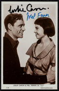 """Movie Posters:Musical, Leslie Caron and Mel Ferrer in Lili (MGM, 1953). Autographed Photo (3.5"""" X 5.5). Musical.. ..."""