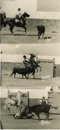 Movie/TV Memorabilia:Photos, Ava Gardner Original Horse Accident Photos. While visiting a ranchin Spain in October, 1957, Ava Gardner, her courage alrea...