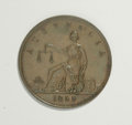 Australian Tokens: , Australian 19th Century Merchant Token Group Lot. Includes threeone penny tokens issued by the following merchants: A. Toog...(Total: 3 tokens)
