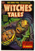 "Golden Age (1938-1955):Horror, Witches Tales #21 Davis Crippen (""D"" Copy) pedigree (Harvey, 1953)Condition: VG...."