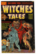 "Golden Age (1938-1955):Horror, Witches Tales #14 Davis Crippen (""D"" Copy) pedigree (Harvey, 1952)Condition: FN-...."