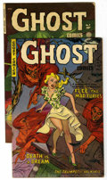 "Golden Age (1938-1955):Horror, Ghost #3 and 4 Group - Davis Crippen (""D"" Copy) pedigree (FictionHouse, 1952).... (Total: 2)"