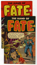 "Golden Age (1938-1955):Horror, The Hand of Fate #8 and 14 Group - Davis Crippen (""D"" Copy)pedigree (Ace, 1951-52).... (Total: 2)"