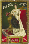 "Advertising:Paper Items, Coca Cola ""Lillian Nordica"" 1905 Advertising Card. Stiff paper,6.5"" x 9.75"", published by Wolf & Company, Philadelphia, fro..."
